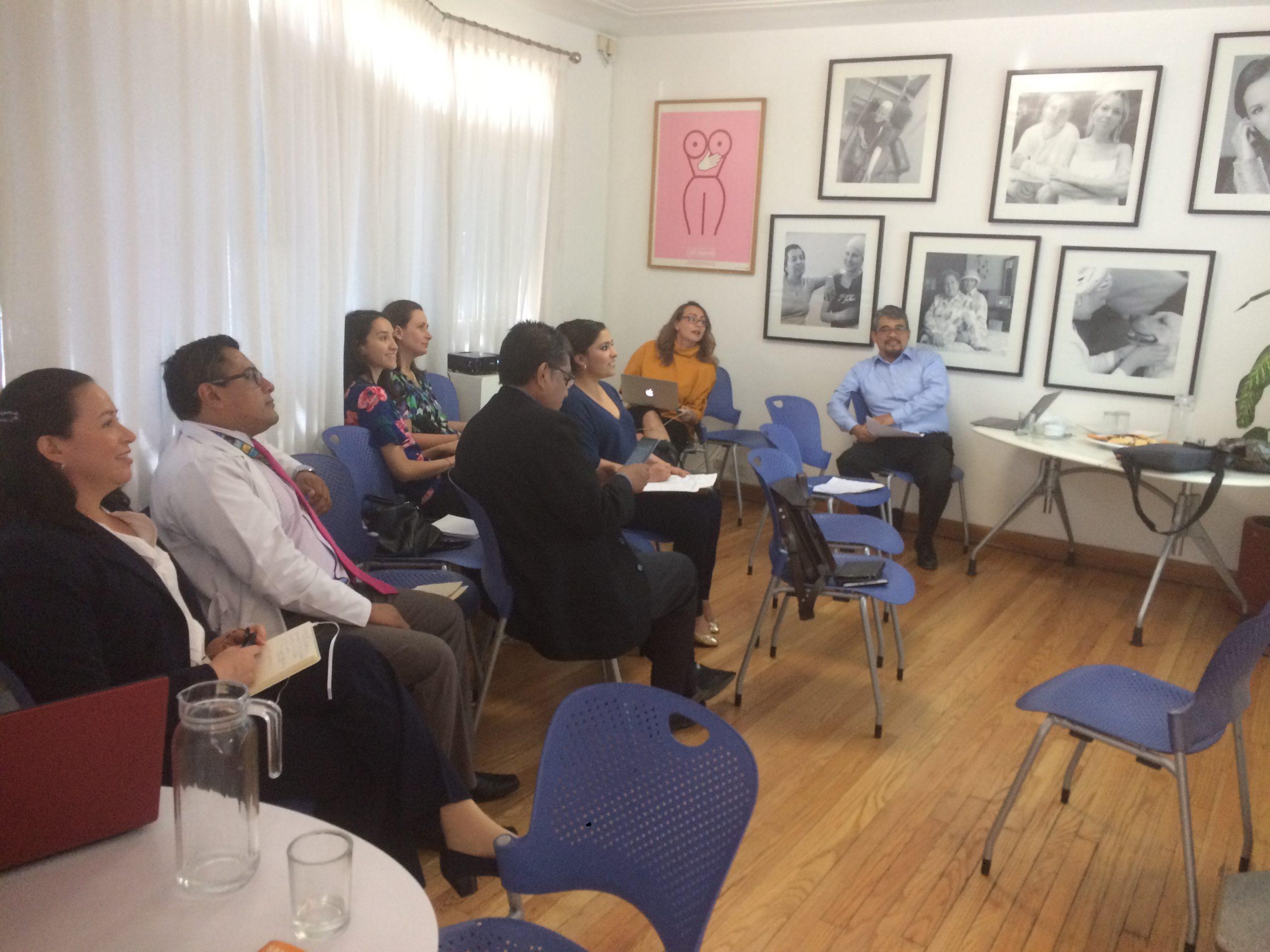 Concluyen los trabajos de la Revisión de la NOM 041 sobre cáncer de mujer COMESAMA participó activamente