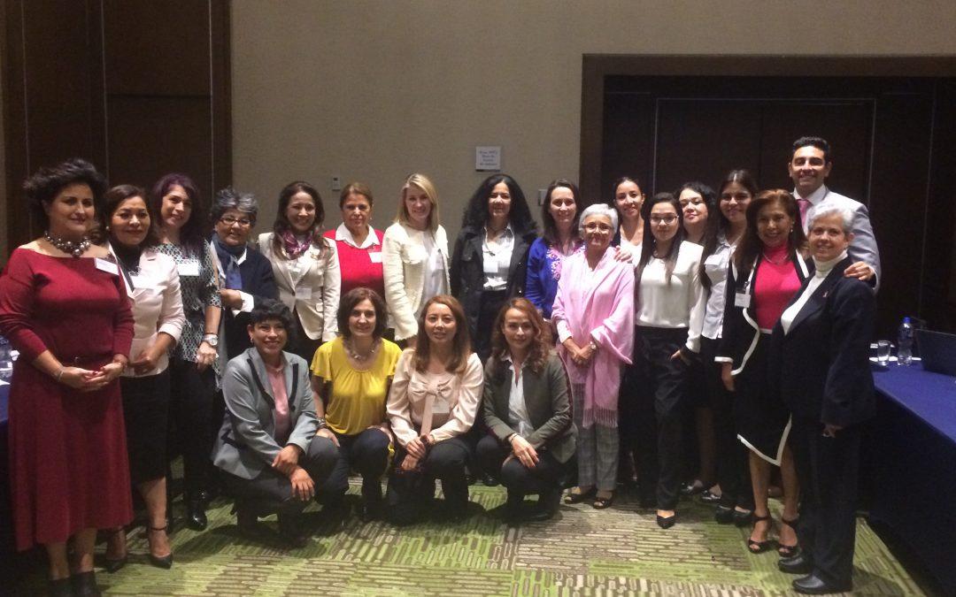 Reunión de trabajo de COMESAMA en Guadalajara el 5 de noviembre de 2018.