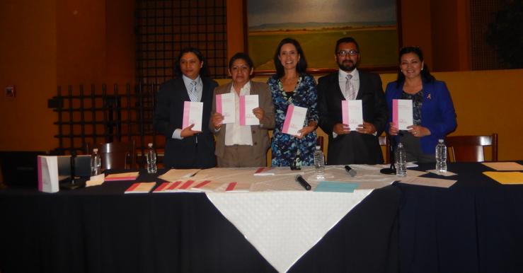 PRESENTACIÓN DEL MANUAL DEL SEGURO POPULAR PARA CÁNCER DE MAMA. 21 DE ABRIL DE 2015