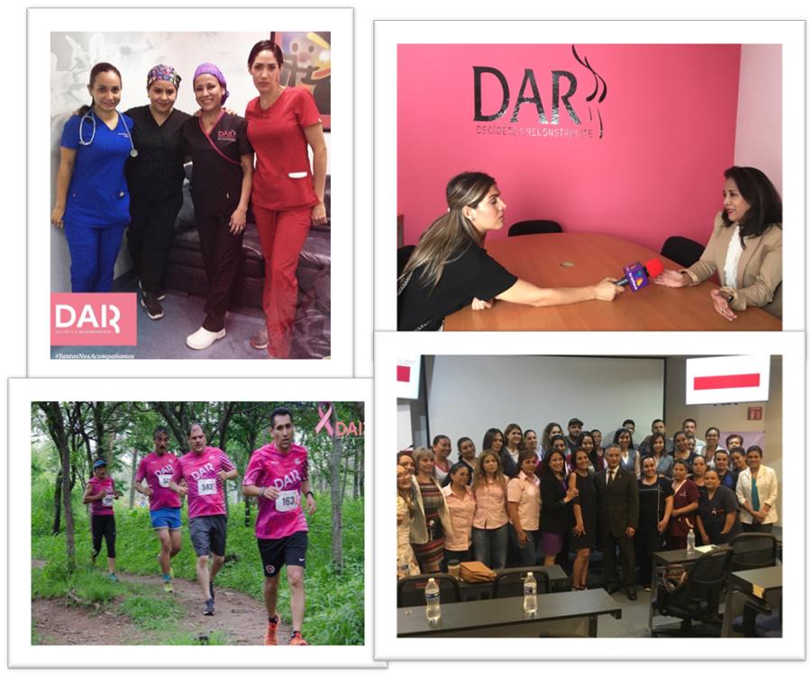 DAR reconstruyó a 65 mujeres en 2019