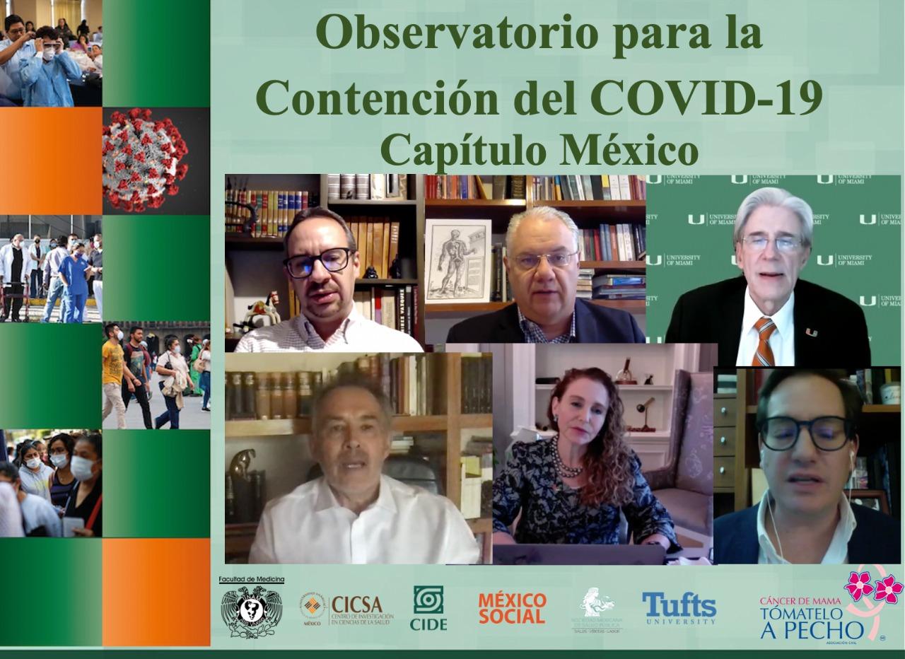 TAP Lanza Observatorio para la Contención del Covid-19. Resultados para México
