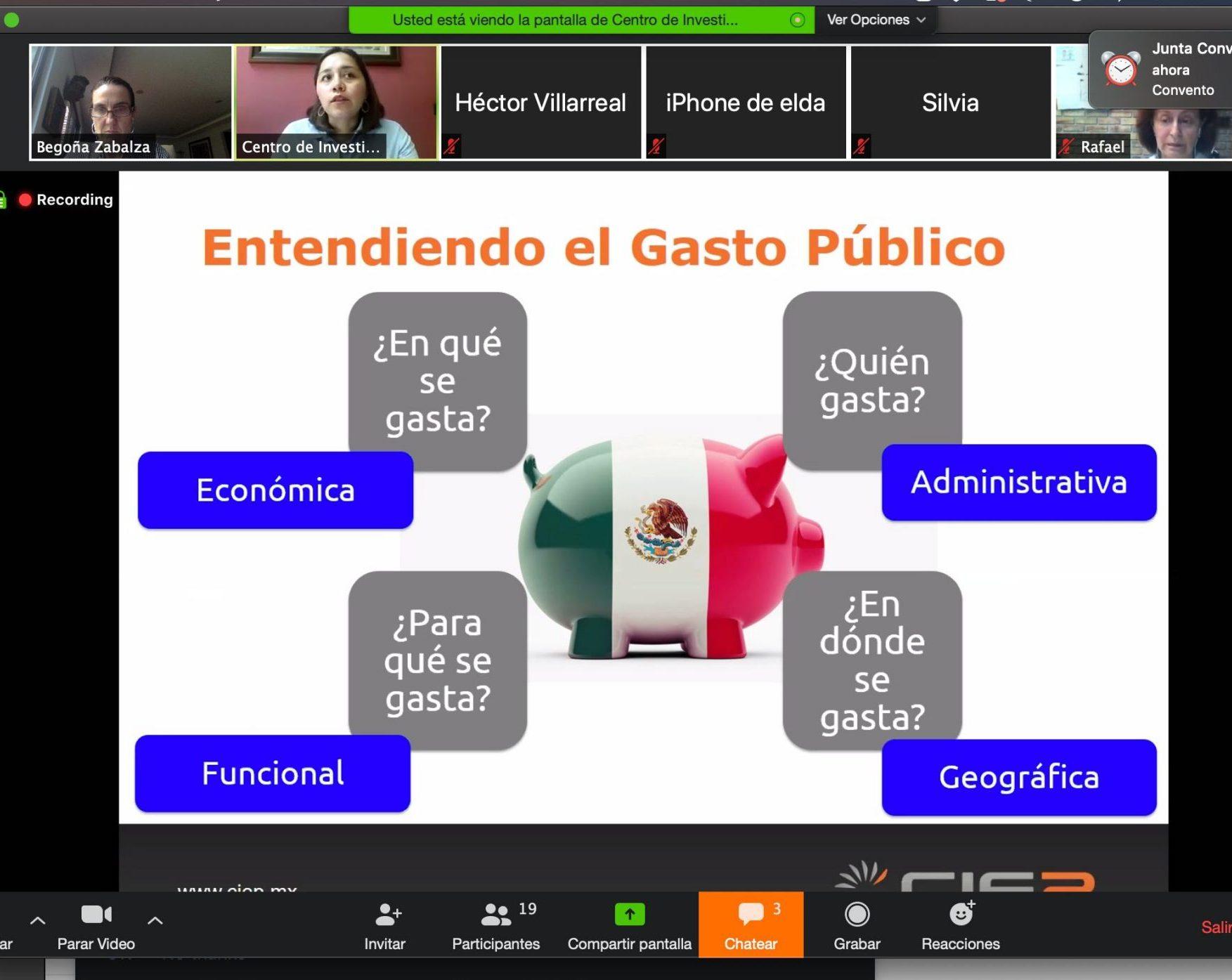 """CIEP imparte taller """"Cómo entender el Presupuesto en Salud"""" a integrantes de COMESAMA"""