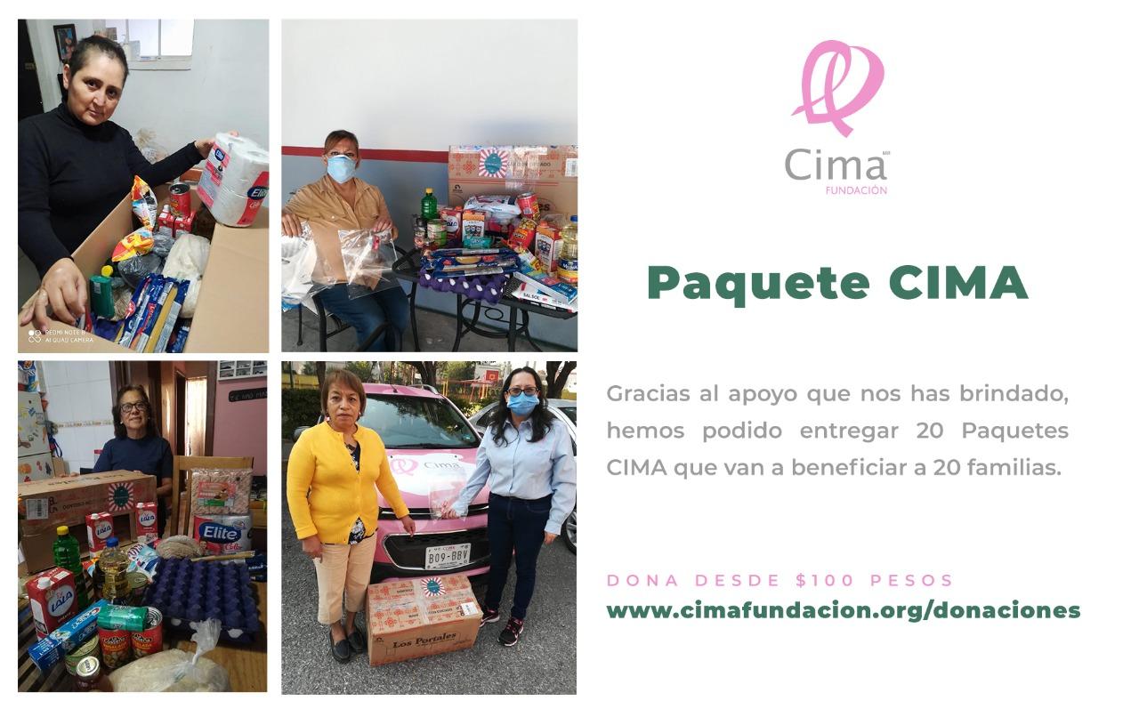 """Fundación Cima sigue apoyando a mujeres con cáner de mama mediate la entrega del """"Paquete Cima"""""""