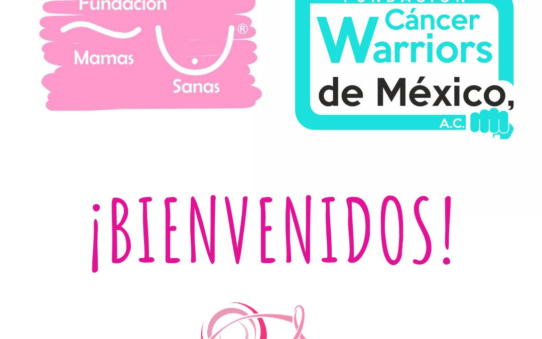 COMESAMA da la bienvenida a Mamas Sanas y Cáncer Warriors de México