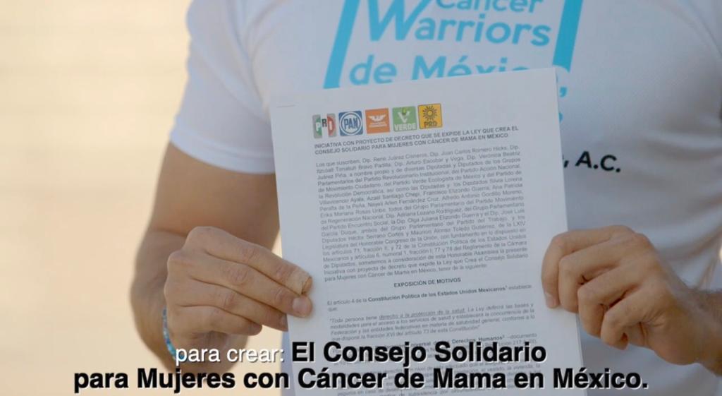 CWM propone la creación del Consejo Solidario para Mujeres con Cáncer de Mama