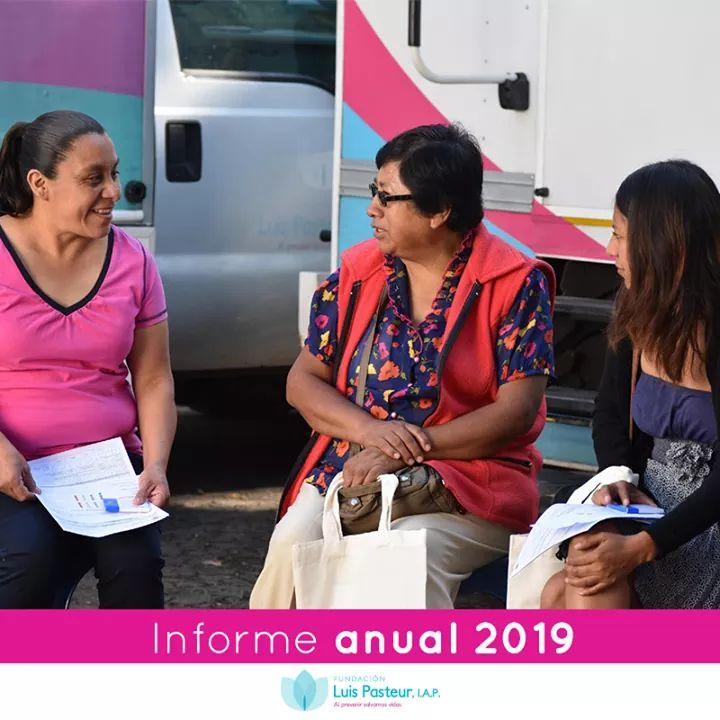Fundación Luis Pasteur IAP publica su informe anual 2019