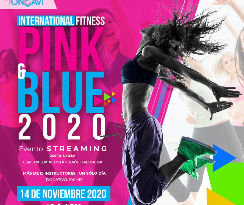 Pro Oncavi realiza evento Fitness Pink and Blue