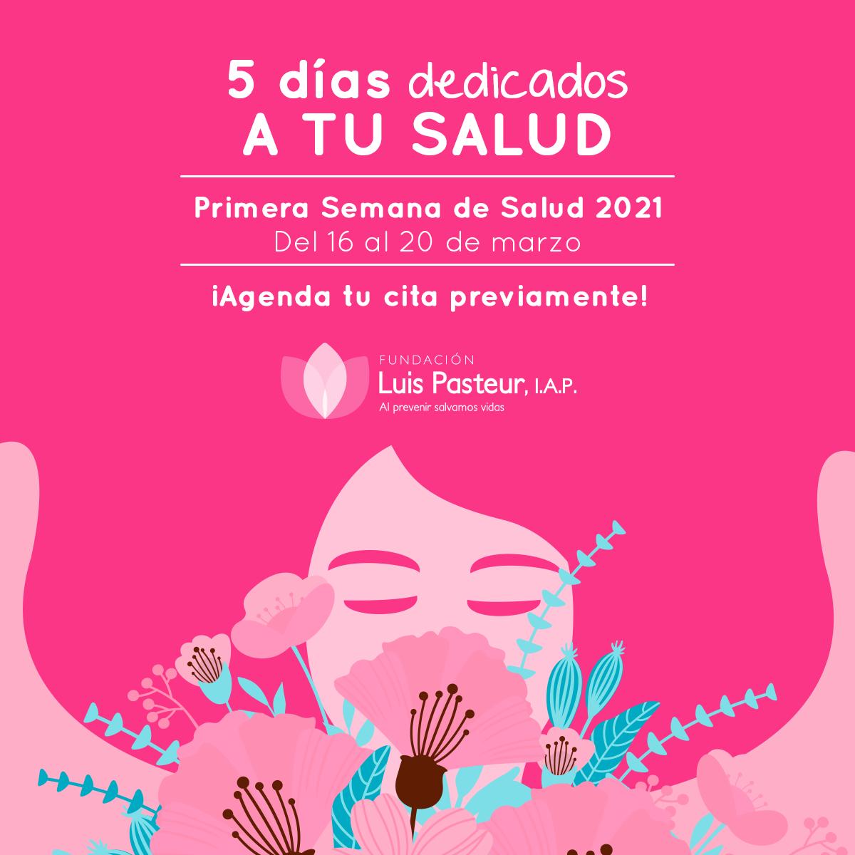 Fundación Luis Pasteur nos invita a su primera semana de Salud 2021