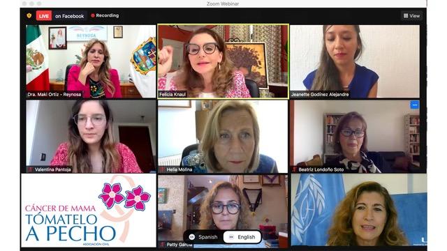 TAP organiza foro sobre Mujeres líderes en la Salud Global