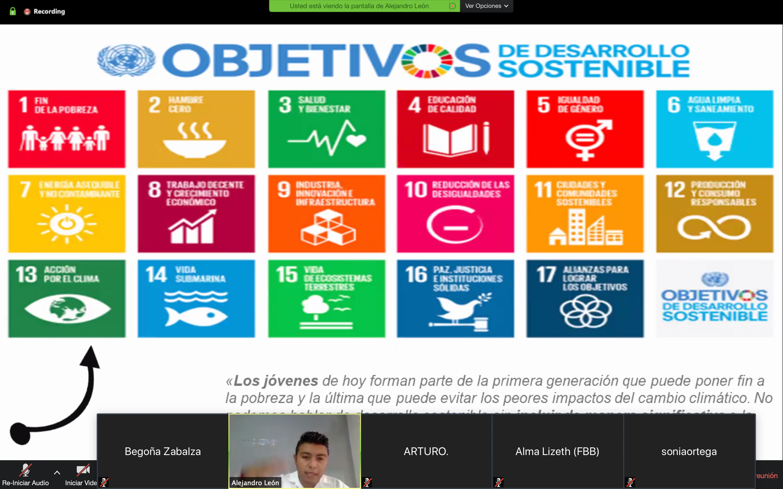 Comesama ofrece charla sobre la Agenda 2030, Para el Desarrollo Sostenible de la ONU