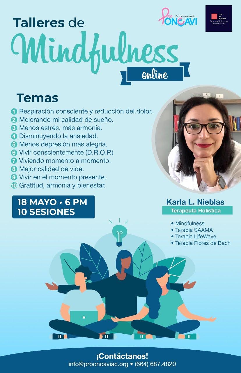 Pro Oncavi ofrece Talleres de Mindfulness