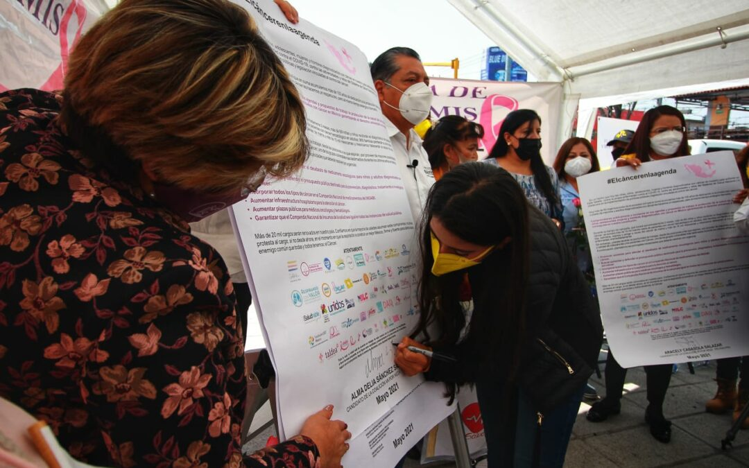 ASBIS realiza evento de #ElCancerEnLaAgenda en Neza