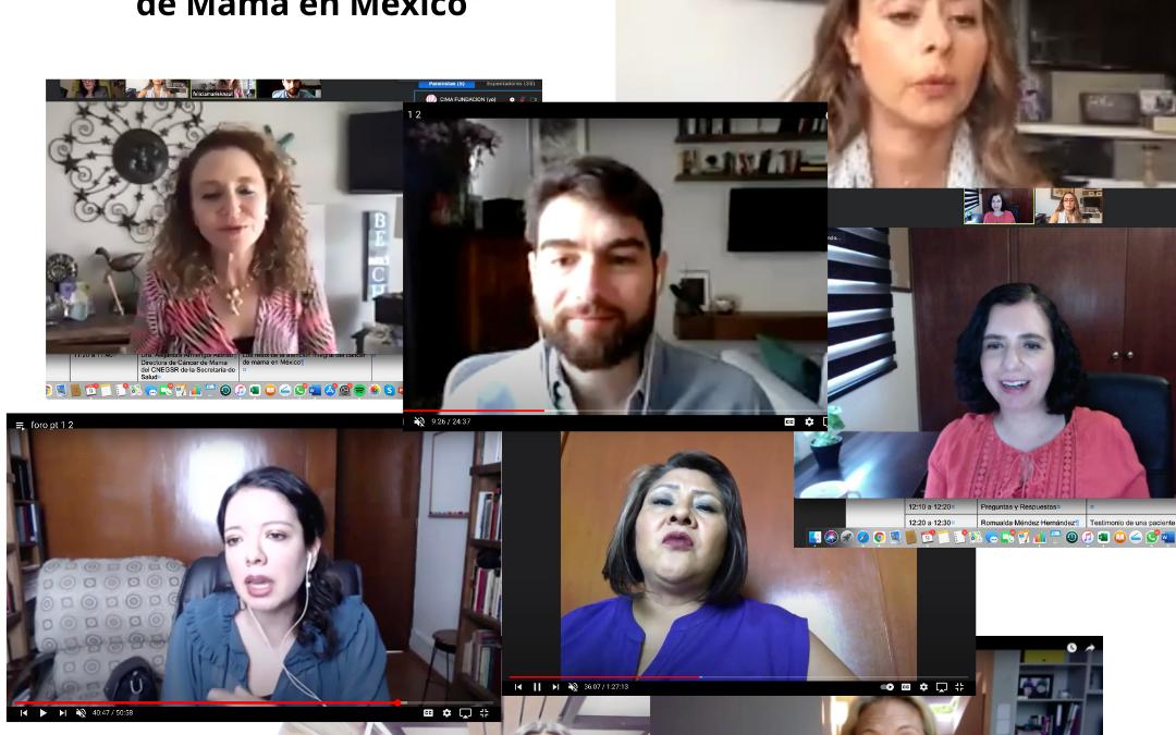 """Comesama organiza foro """"Retos de la atención del cáncer de mama en México"""""""