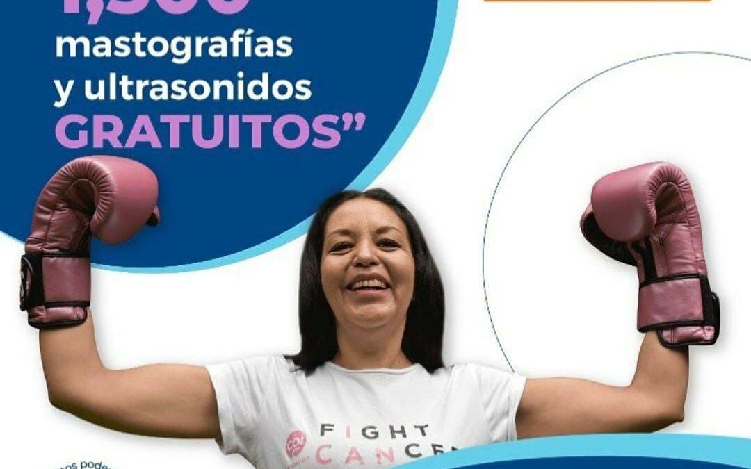 COI inicia campaña Goles que salvan vidas. Donará 1500 mastografías
